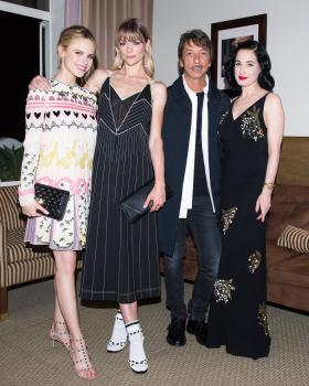 Halston Sage  Valentino and InStyle Cocktail 3
