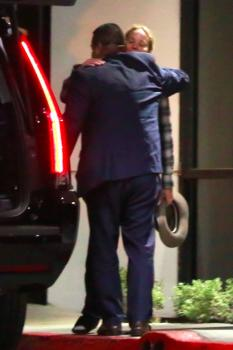 Jennifer Lawrence at her hotel in LA 4