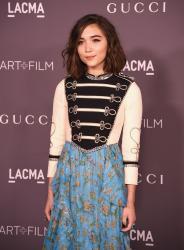 Rowan Blanchard - 2017 LACMA Art + Film Gala LA 11/4/17