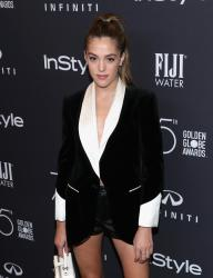 Sistine Stallone - HFPA and InStyle Celebrate the 75th Anniversary of the Golden Globe Awards in West Hollywood 11/15/17
